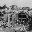 Bau des Wiesbadener Wasserbehälters 1882