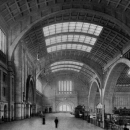 Hall of the main railway station in Leipzig, 1909-11