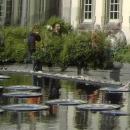 Schwimmende Hohlspiegellinsen im ehemaligen Wasserwerk Bonn, 1982/90
