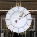 Uhr im 1. Obergeschoss