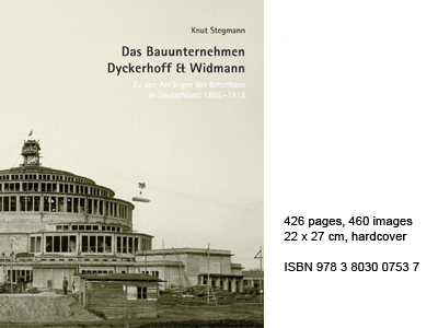 "Cover of the publication ""Das Bauunternehmen Dyckerhoff & Widmann"""