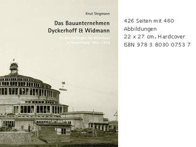 """Titelbild Publikation """"Das Bauunternehmen Dyckerhoff & Widmann"""""""