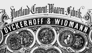 Briefkopf Dyckerhoff und Widmann | Archiv Knut Stegmann